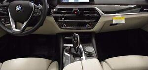 Details about BMW OEM G30 G31 5 Series 2017+ Gray Poplar Grain Wood  Interior Trim Kit 4LQ New
