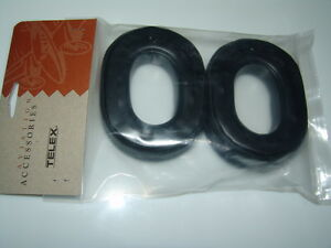 NEW TELEX THICK EAR CUSHIONS, PADS p/n 800456-021 for ECHELON, STRATUS HEADSETS