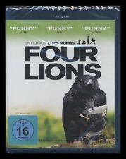 BLU-RAY FOUR LIONS (4) - SCHWARZE KOMÖDIE - DSCHIHAD IN ENGLAND *** NEU ***