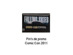 Falling-Skies-pin-039-s-de-promo-du-Comic-Con-2011-SDCC-falling-skies-logo-lapel-pin