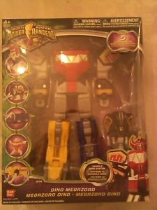 Mighty Morphin Power Rangers Dino Megazord Deluxe 10 inch 2009 Figure