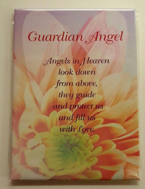 Beautiful 'Guardian Angel' Fridge Magnet NEW