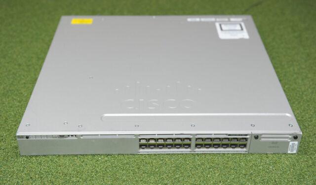 CISCO WS-C3850-24P-S 24 Port PoE IP Base 24x1GE PoE Switch - 1 YEAR WARRANTY