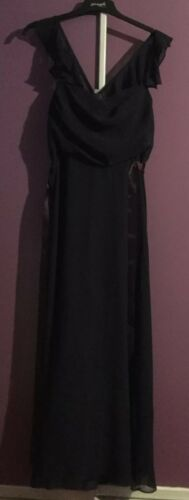 The Bnwt Taglia Evening viola Mother Vestito 16 Of Bride Bridesmaid vIUrwICxq