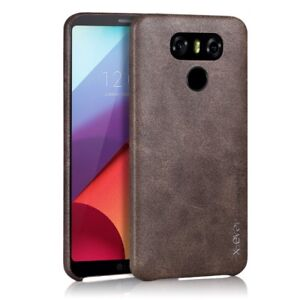 For-LG-G6-G7-G5-Suprreme-Phone-Case-Smooth-Back-Cover-X-level-PU-Leather-Soft