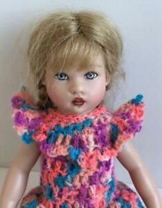 Clothes-for-Helen-Kish-Riley-doll-Dress-Multi-Color-Lot-R-10-OOAK-Dollchris-USA