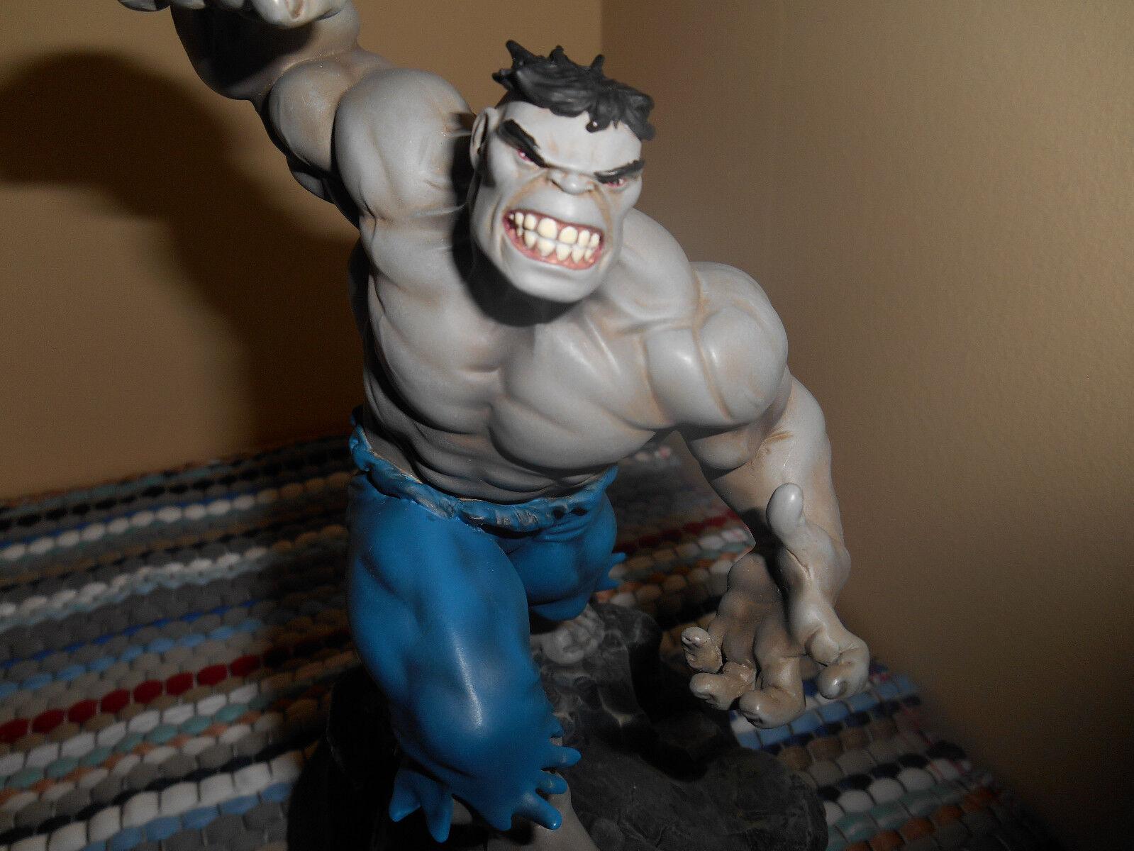 Bowen designs marvel - comics der hulk grauen version mini - statue new in box