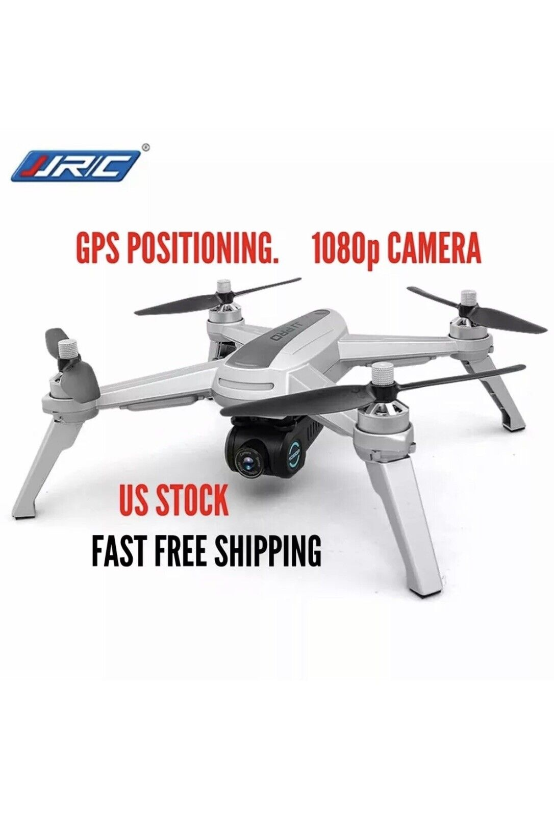 JJRC JJPRO X5 Esc 5G Wi-fi FPV quadricóptero Cámara 1080P HD GPS Radio Control Drone con LED