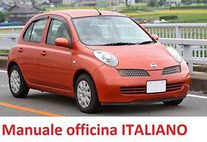 nissan micra k12 2002 2010 manuale officina riparazione italiano rh ebay it manuel technique nissan micra k12 manuale officina nissan micra k12