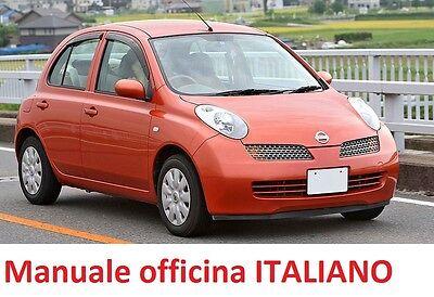 nissan micra k12 2002 2010 manuale officina riparazione italiano rh ebay it manual nissan micra 2003 manuel nissan micra 2003