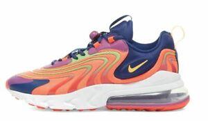 Nike-AIR-MAX-270-reagire-ENG-cremisi-Arancione-amp-Viola-Uomo-CD0113-600