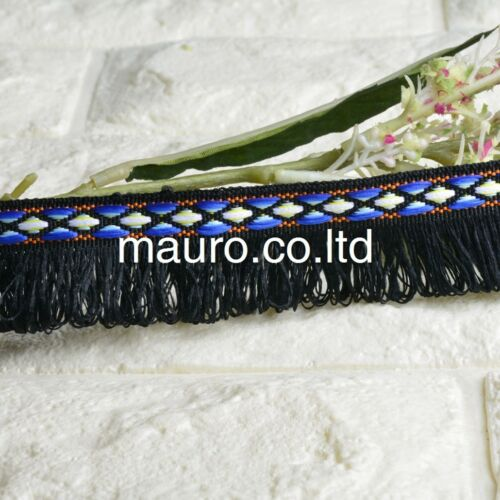 2Yds Tassels Lace Trims Decor Tassel Fringe Craft DIY Sewing Curtain Width 2.5cm