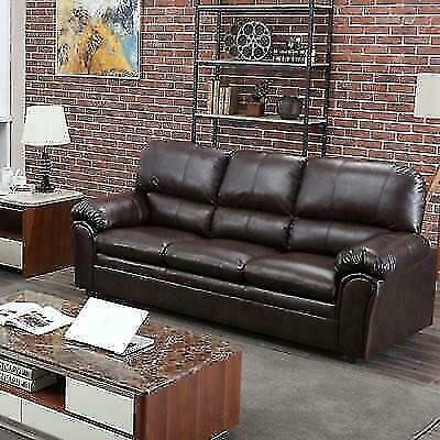 Bestmassage Sectional 3 Seat Faux, Is Faux Leather Sofa Good