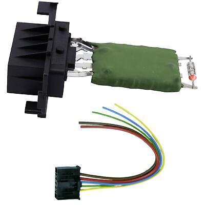 Alfa Mito etc Heater Resistor and Wiring Loom Repair Plug for Vauxhall Corsa 06