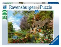 Country Cottage Jigsaw Puzzle, 1500-piece , New, Free Shipping on sale
