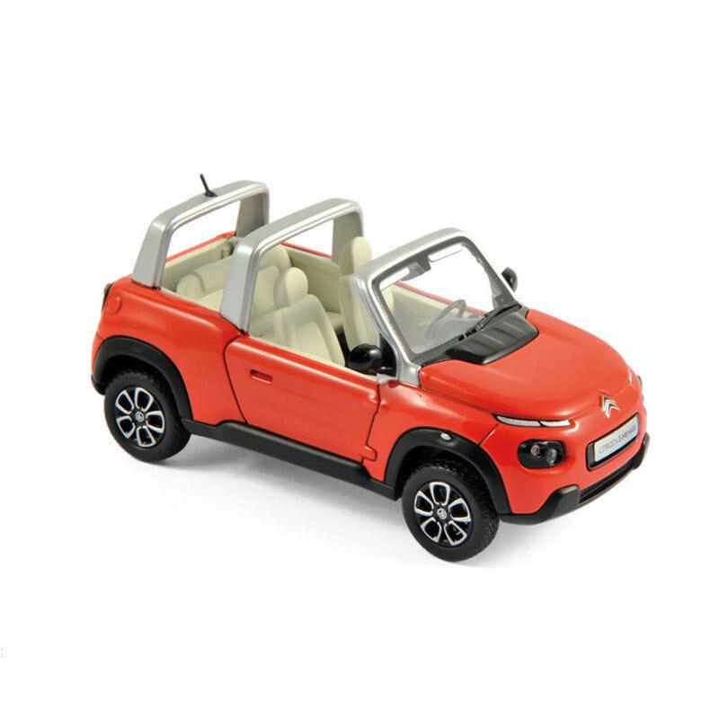 NOREV 150960 CITROEN E-MEHARI Orange 2016 échelle 1 43 voiture miniature NEUF  °