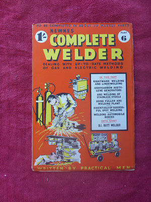 Cnc & Metalworking Supplies Vintage Newnes Complete Welder Magazine Part 6 Refreshment