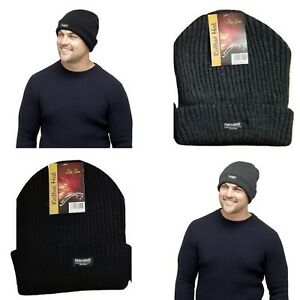 MENS-JF-THINSULATE-RIBBED-WINTER-WARM-ACRYLIC-BEANIE-SKI-HAT-FOR-WINTER
