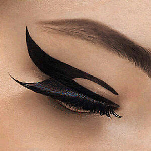 Details About Eyeliner Tattoo Temporary Tattoo Eye Tattoo Black Eyeliner 3 Designs New Easy