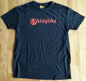 2020-bildet-Antikoerper-woman-T-Shirt-schwarz-mit-rotem-Druck-M-XXL-Girlie