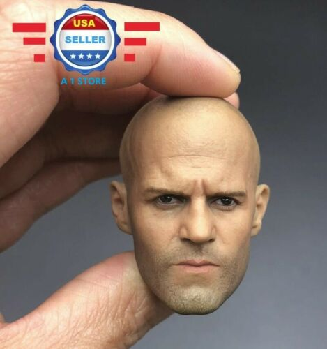 Custom 1//6 scale Jason Statham Head Sculpt for 12/'/' male body Phicen