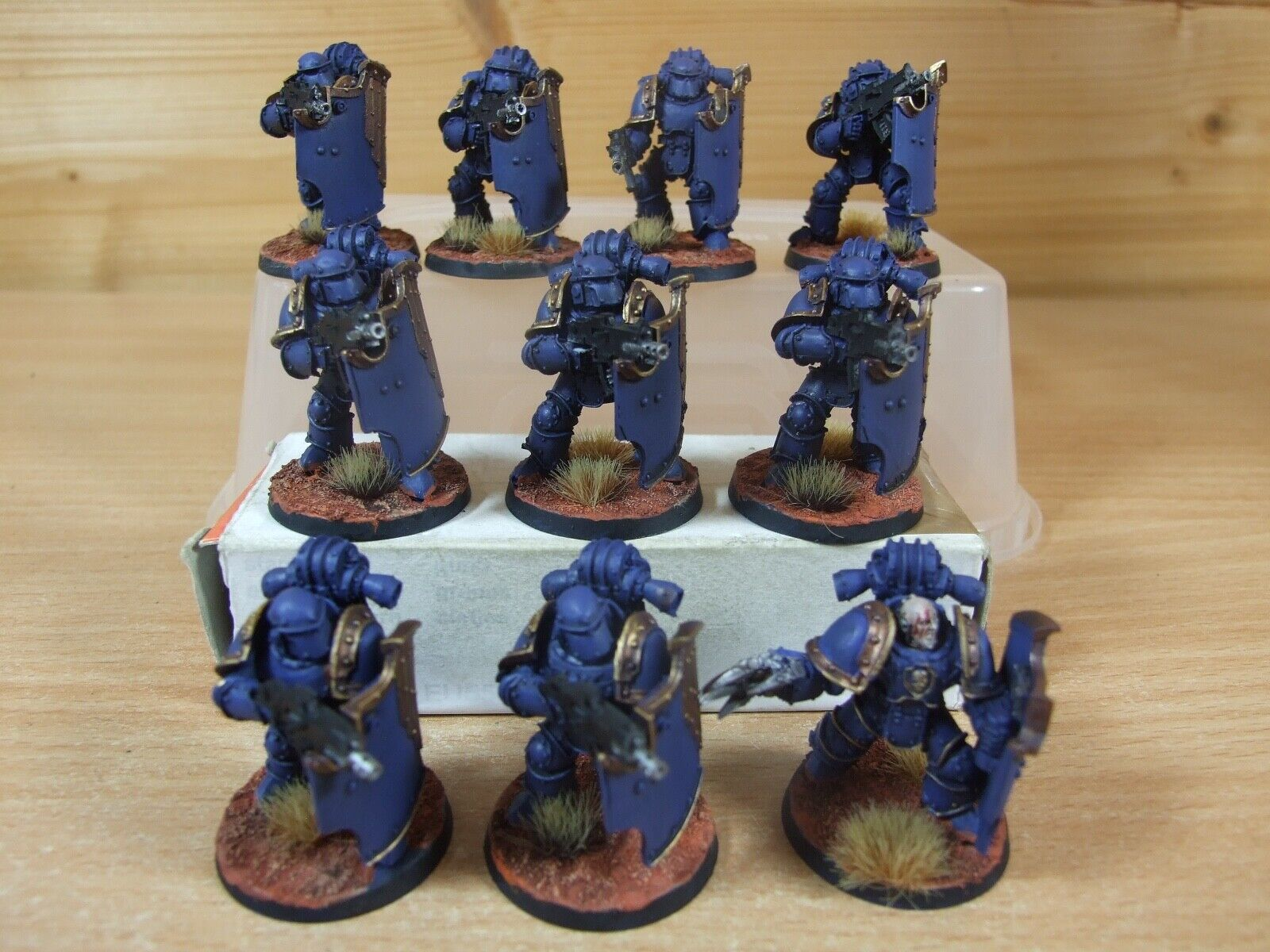 10 FORGEWORLD ULTRAMARINE BRERS PAINTED PAINTED (456)