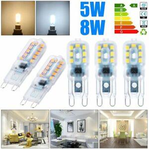 5-10-Pcs-G9-5-W-8-W-DEL-Dimmable-Capsule-Ampoule-Replace-lumiere-lampes-AC220-240V-UK