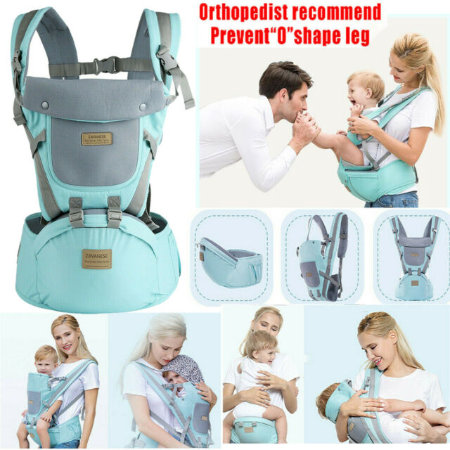 Baby Carrier Backpack Sling Side Carry Ergonomic Newborn Wrap Front Facing New