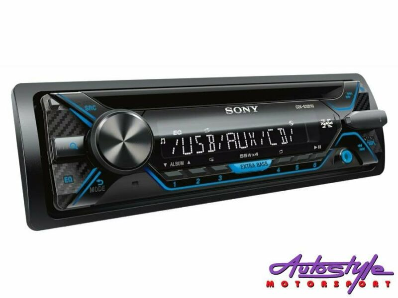 Sony CDX-G1202 Mp3 Cd Player with USB and Front Aux Mega Bass for stunning bass auto activation Dyna