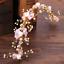 Women-Crystal-White-Rose-Flower-Pink-Bowknot-Wedding-Bridal-Hair-Band-Headband thumbnail 5