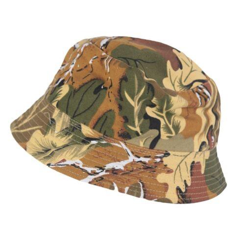 Kid Bambini Bambino Bambina 100/% COTONE ESTATE SPIAGGIA Bucket Hat Cap