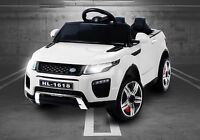 Kids Range Rover Evoque Style Battery Ride On Car 12v Electric Jeep - White