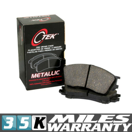 NEW COMPLETE SET FRONT BRAKE PAD CENTRIC 102.1081 FITS FORD MUSTANG METALLIC