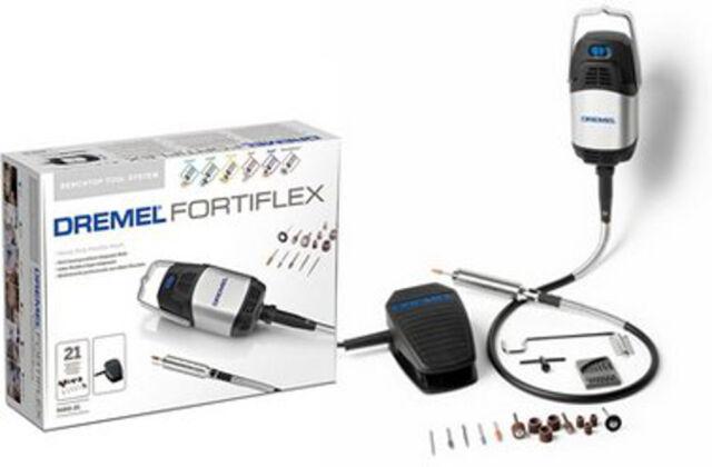 Dremel 9100 FORTIFLEX MULTIUTENSILE PROFESSIONALE + 21 ACCESSORI