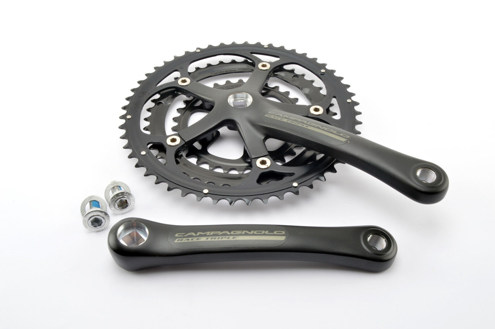 New Campagnolo racing triple crankset with 30 42 52 teeth and 170mm length nos