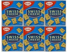 CHRISTIE Kraft Swiss Cheese Crackers New 6 boxes (200 grams each) FREE SHIPPING