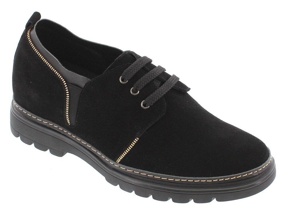 ecco l'ultimo TOTO H03055 H03055 H03055 - 2.8 Inches Elevator Height Increase nero Casual Lace Up Shoe  garantito