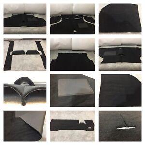 Mini-Cooper-MK1-1961-67-amp-mk2-1967-71-9-Piece-Black-autolux-Luxury-Carpet-set