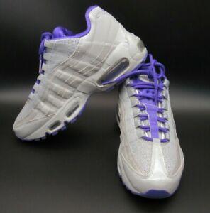 grey and purple air max 95