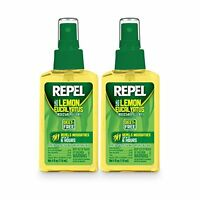 Repel Lemon Eucalyptus Natural Insect Repellent With 4 Oz Pump Spray, Twin Pack on Sale