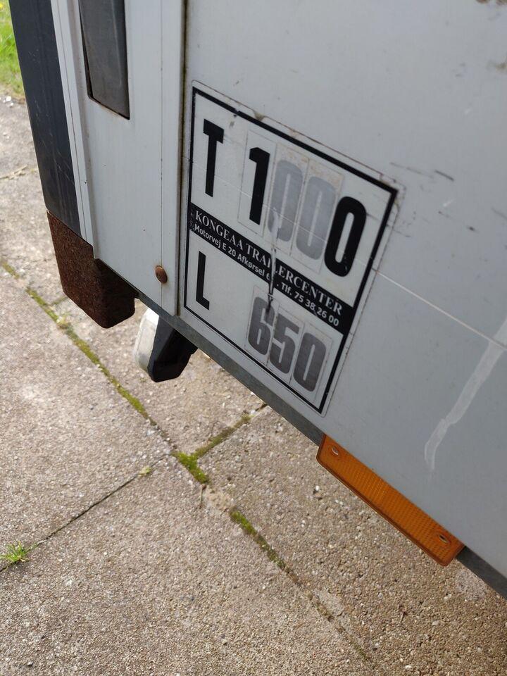 Boogietrailer, Humbaur, lastevne (kg): 600