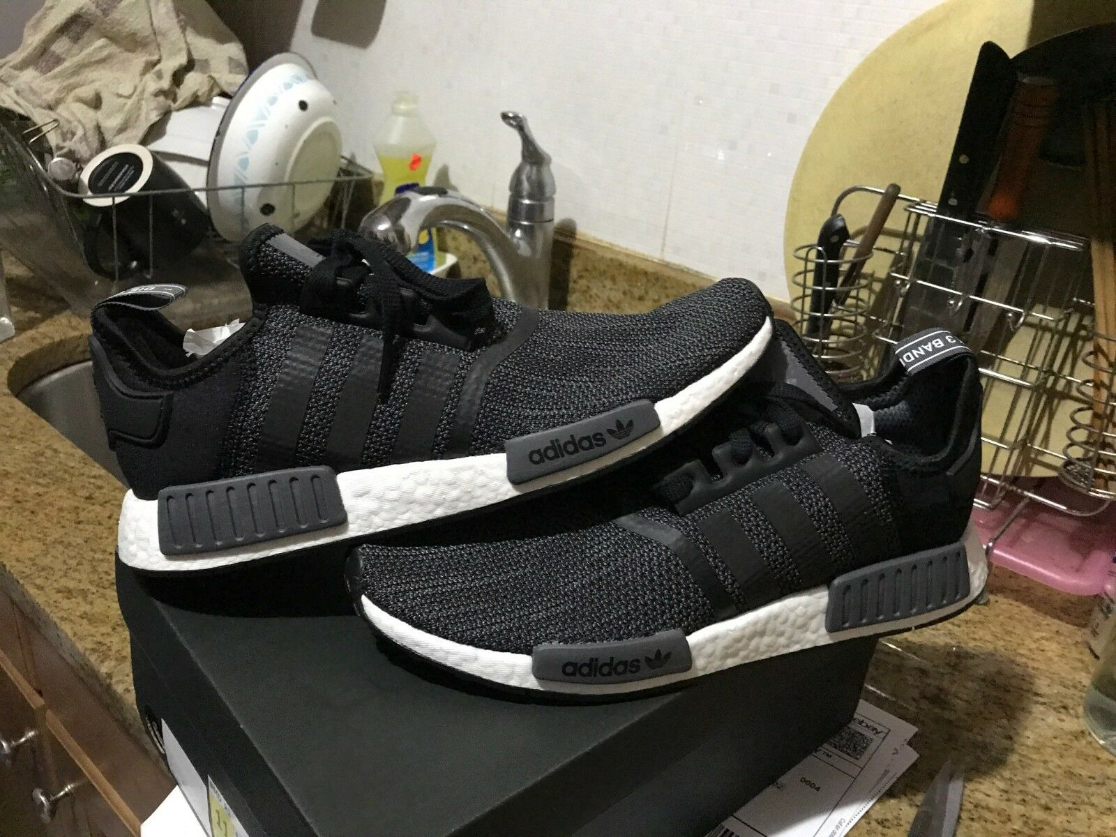 Adidas Originals NMD R1 Core Black Carbon B79758 Men