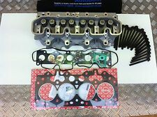 LANDROVER DISCOVERY 300 tdi CYLINDER HEAD BUILT UP NEW WITH GASKETS-LDF500180COM