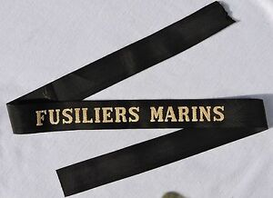 FUSILIERS-MARINS-RUBAN-LEGENDE-MARINE-etat-neuf-de-stock