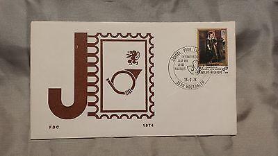 Ehrgeizig E020 Ersttagsbrief School Voor Philatelie Belgien 1974 Freigabepreis Europa Briefmarken