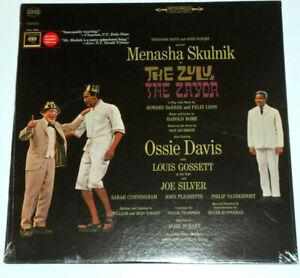 The Zulu & Zayda soundtrack Menasha Skulink Broadway Cast KOS 2880 Davis Gossett