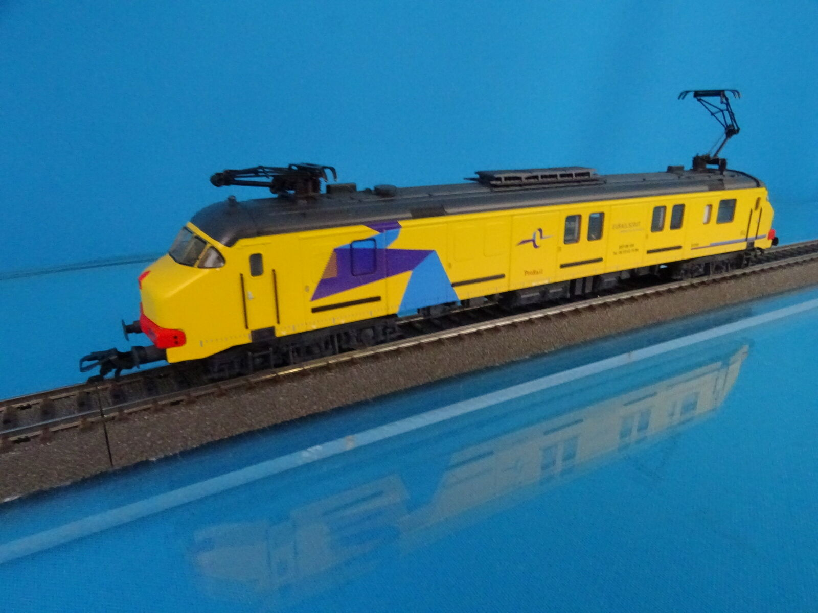 Marklin 37894 NS Electric Train set Motorpost BRT-08 JIM Gelb DIGITAL MFX