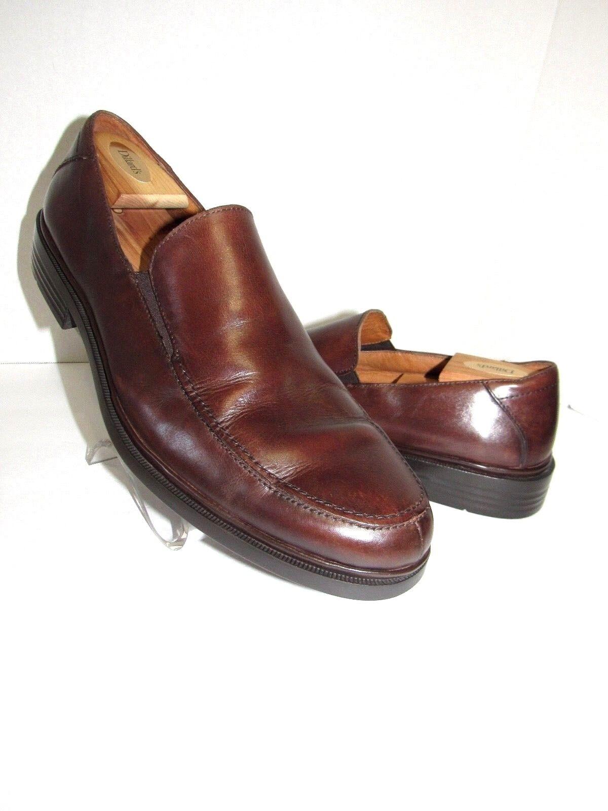 FLORSHEIM Comportech marrone Pelle Loafers Scarpe SZ 12 D