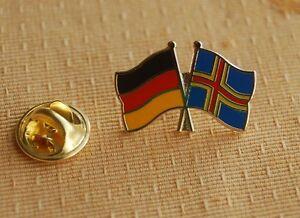 Freundschaftspin-Deutschland-Aland-Pin-Button-Anstecker