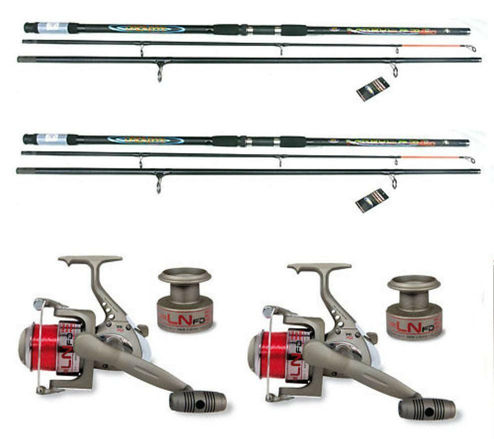 Carbo 14ft  Beach Sea Fishing Rods & LN 70 Reels